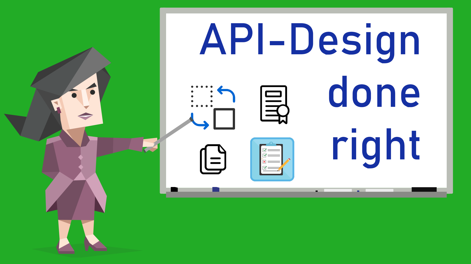 API-Design done right